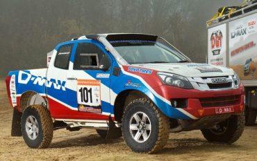 Isuzu D-Max en el Dakar 2013