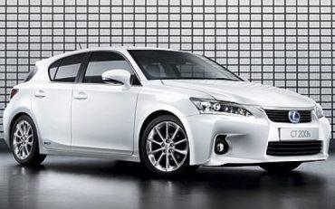 Lexus CT 200h Move On White Edition: 300 solo para España