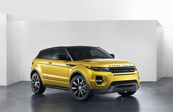 Range Rover Evoque Sicilian Yellow, nueva edición limitada