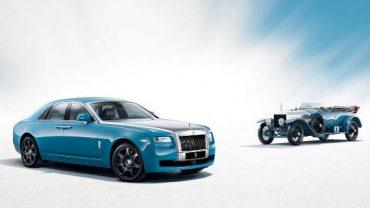 Rolls-Royce Ghost Alpine Trial Centenary para el Salón de Shanghai