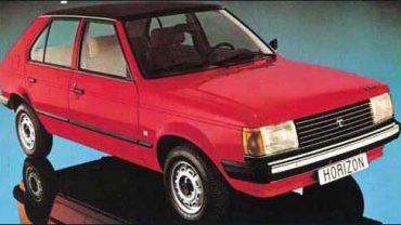 Talbot Horizont, Coche del Año 1981