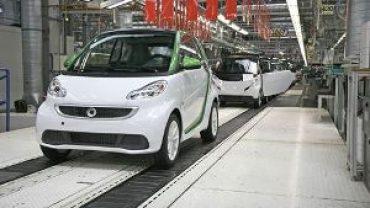 Smart comienza a fabricar el Smart fortwo eléctrico