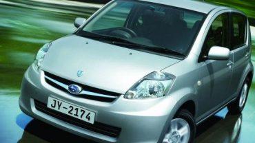 Nuevo Subaru Justy 2013